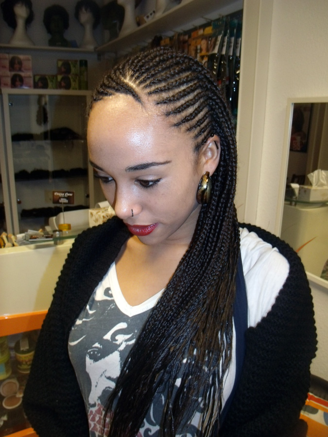 Halb Cornrows & Rasta - Afroshop Berlin – Coura Care Beauty Concept