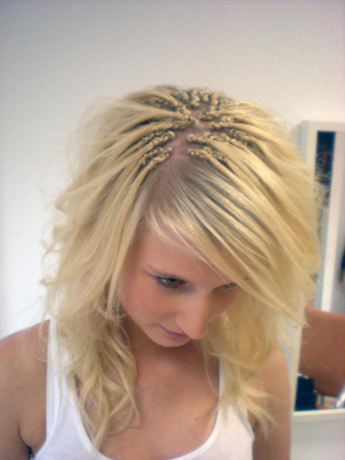 Braids mit haarverlangerung